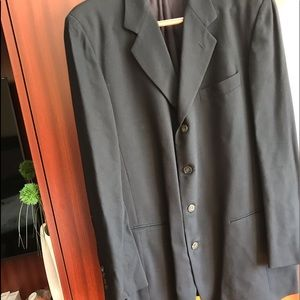 HOT SALE .DONNA KARAN Men's Jacket .s XL Italy
